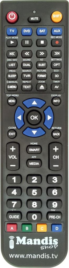 Replacement remote control RC4870